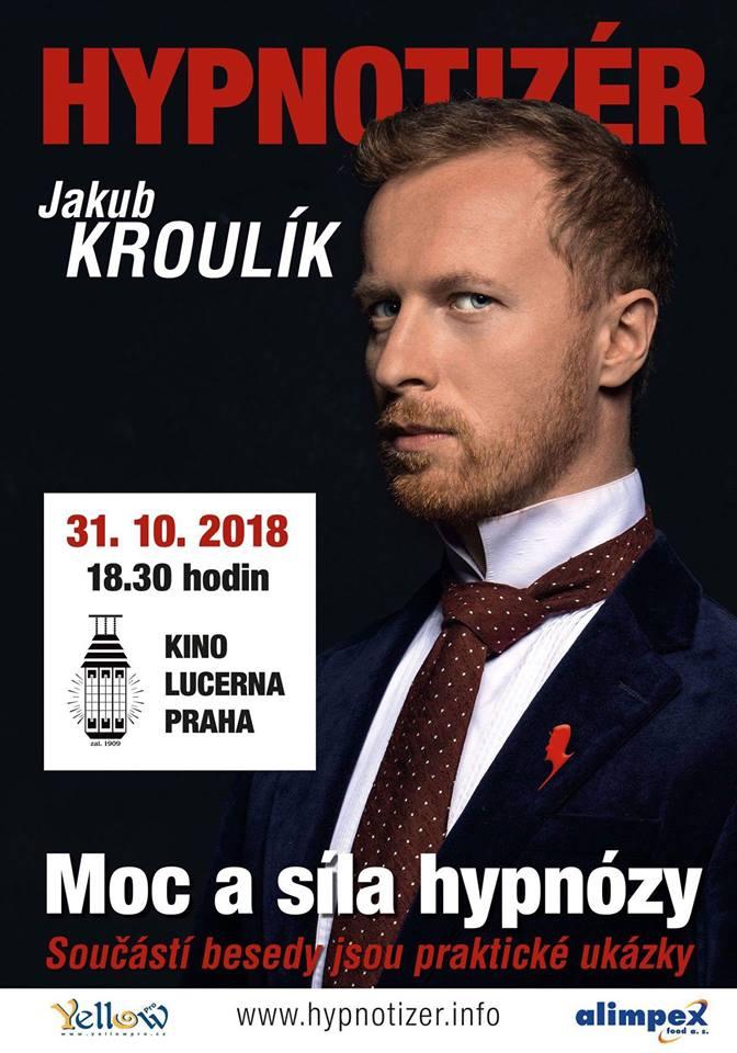 Hypnotizer Jakub Kroulik - Kino Lucerna