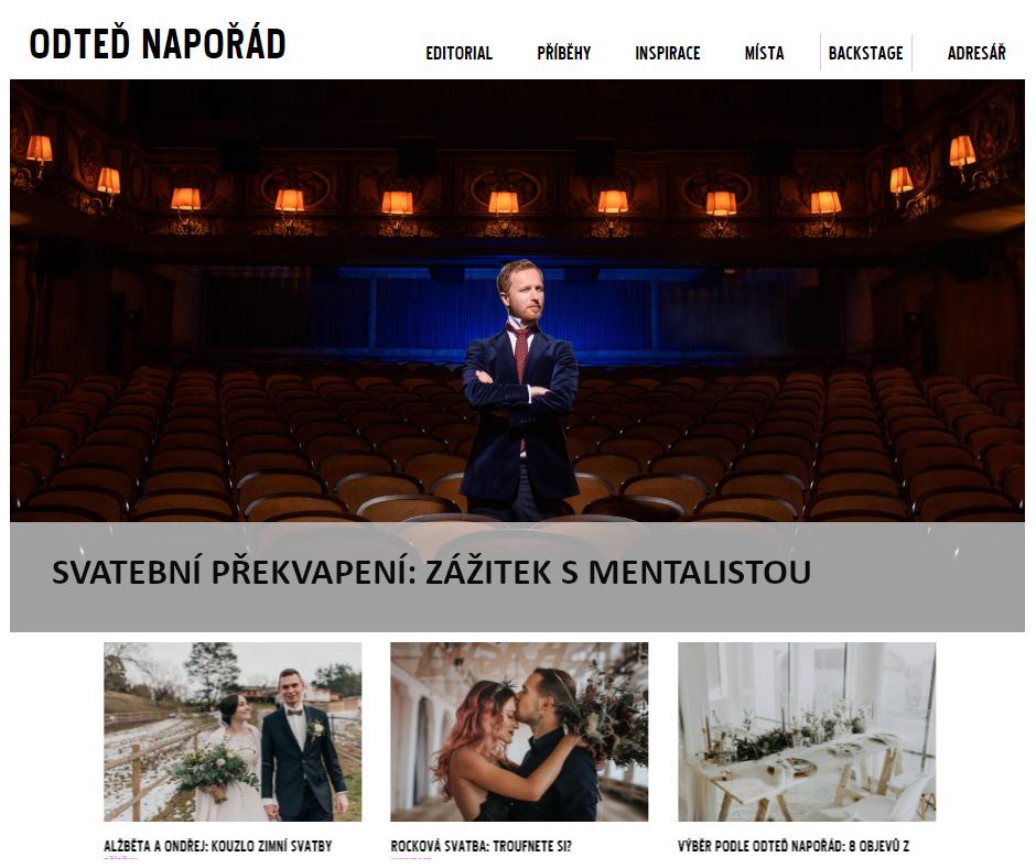 Hypnotizer Jakub Kroulik_rozhovor Odted naporad - svatebni prekvapeni zazitek s mentalistou