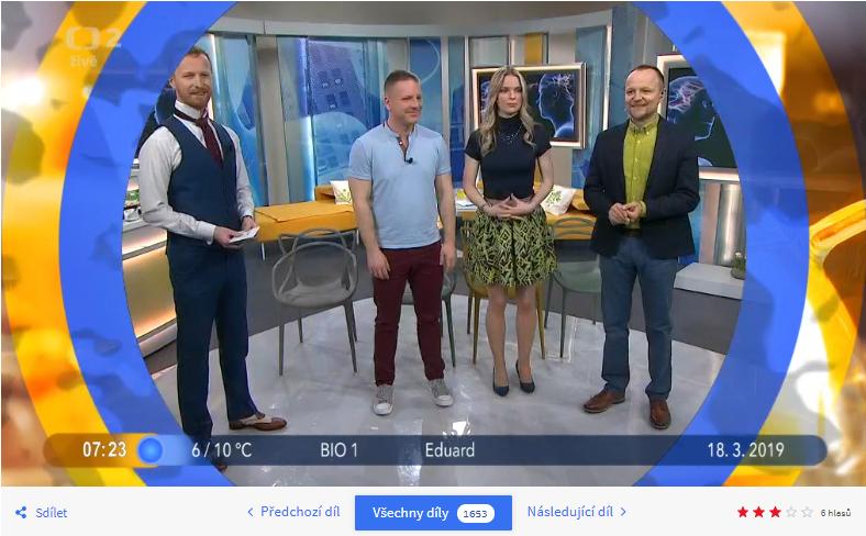 Dobré ráno s Českou televizí 2019 Ostrava
