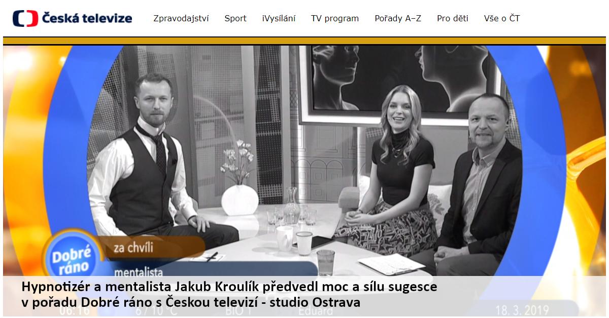 Dobré ráno s Českou televizí, 2019, Ostrava