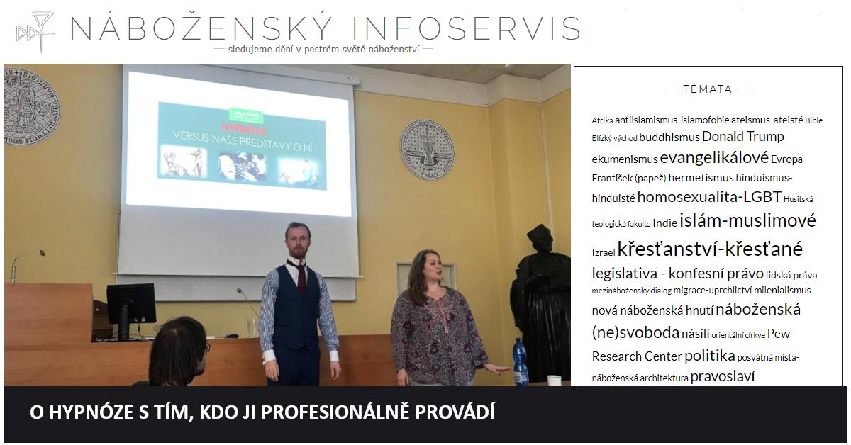 Hypnotizer Jakub Kroulik_clanek v magazimu DINGIR - O HYPNOZE S TIM, KDO JI PROFESIONALNE PROVADI 2