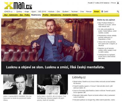 Hypnotizer Jakub Kroulik_rozhovor XmanCZ - Lusknu a objevi se slon, rika cesky mentalista