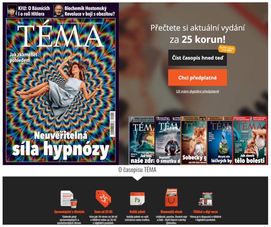 Rozhovor s hypnotizerem Jakubem Kroulikem pro casopis TEMA