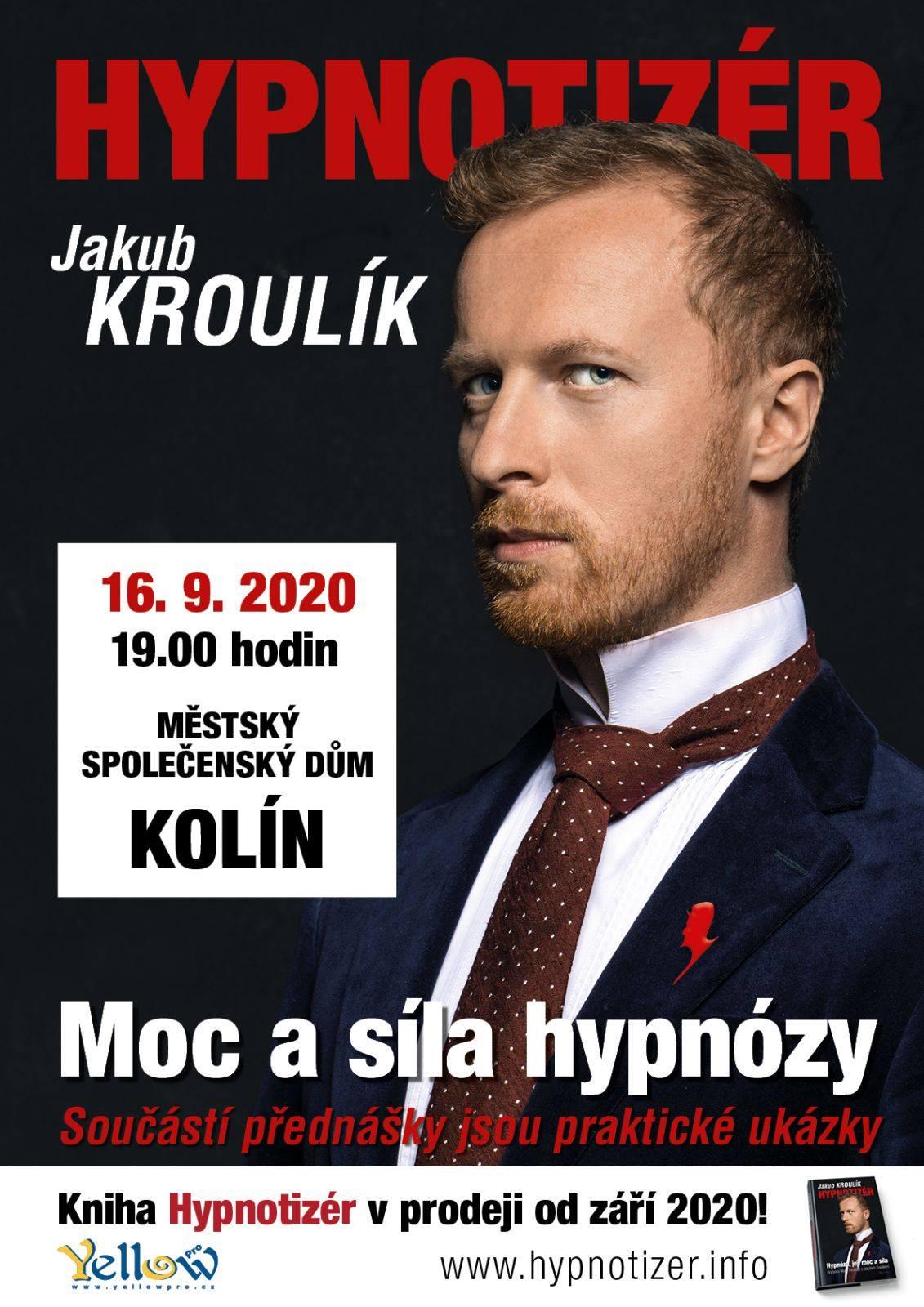 hypnotizer Jakub Kroulík v Koline 2020