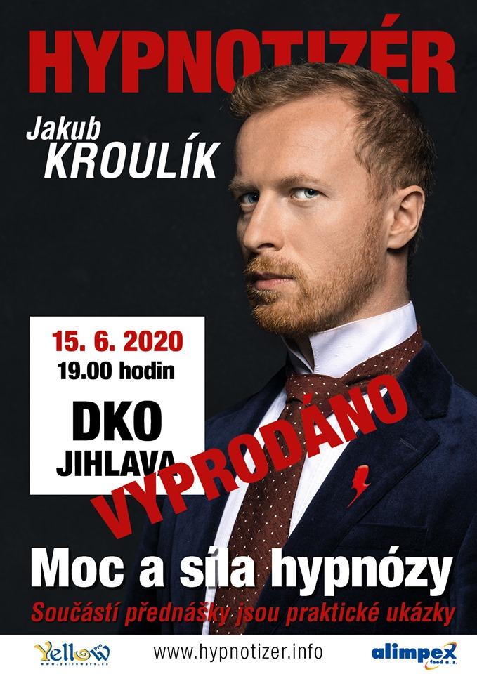 Hypnotizer Jakub Kroulik - Jihlava 2020