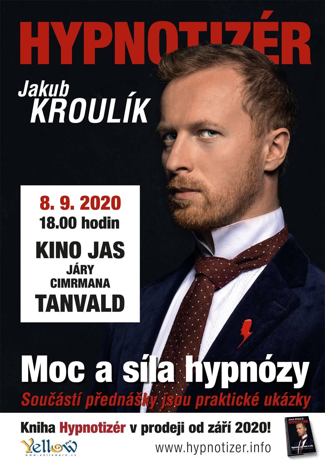 Hypnotizér přijíždí do Tanvaldu (podzim 2020)