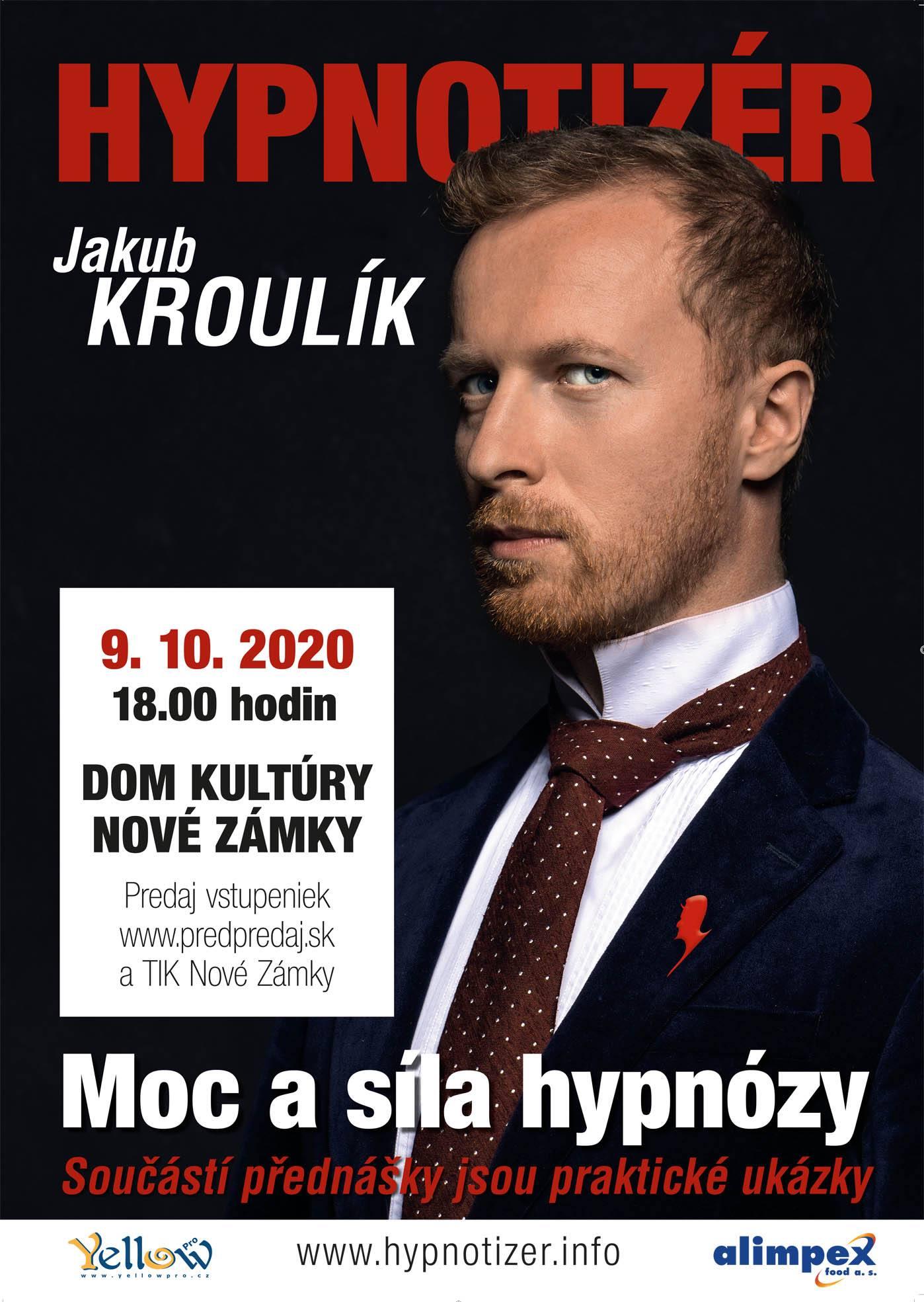 Hypnotizer Jakub Kroulik - Nove Zamky 2020
