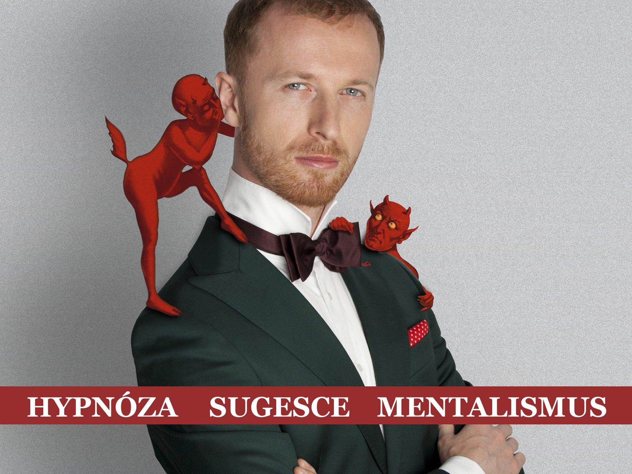 Hypnotizer Jakub Kroulik - prednaska knihovna Ostrov 2017