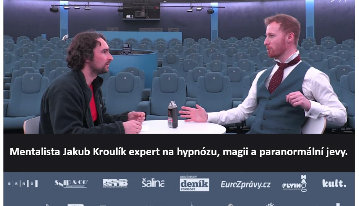 Hypnotizer Jakub Kroulik - rozhovor pro Hvezdarnu a planetarium Brno 2