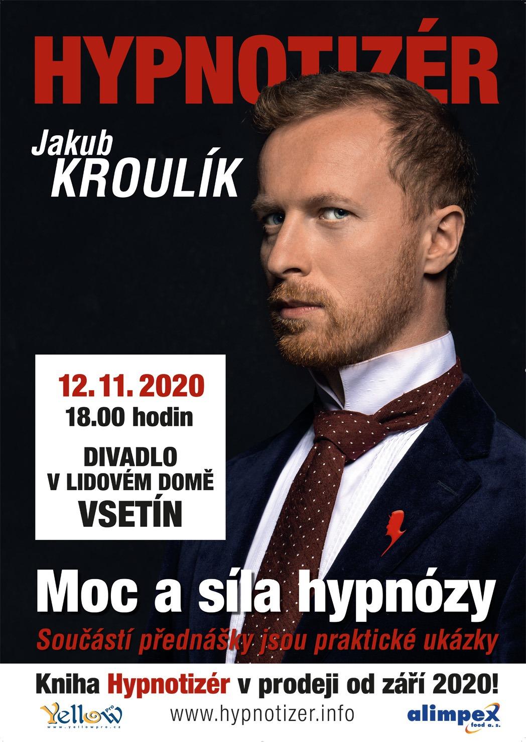 Hypnotizér ve Vsetíně listopad 2020