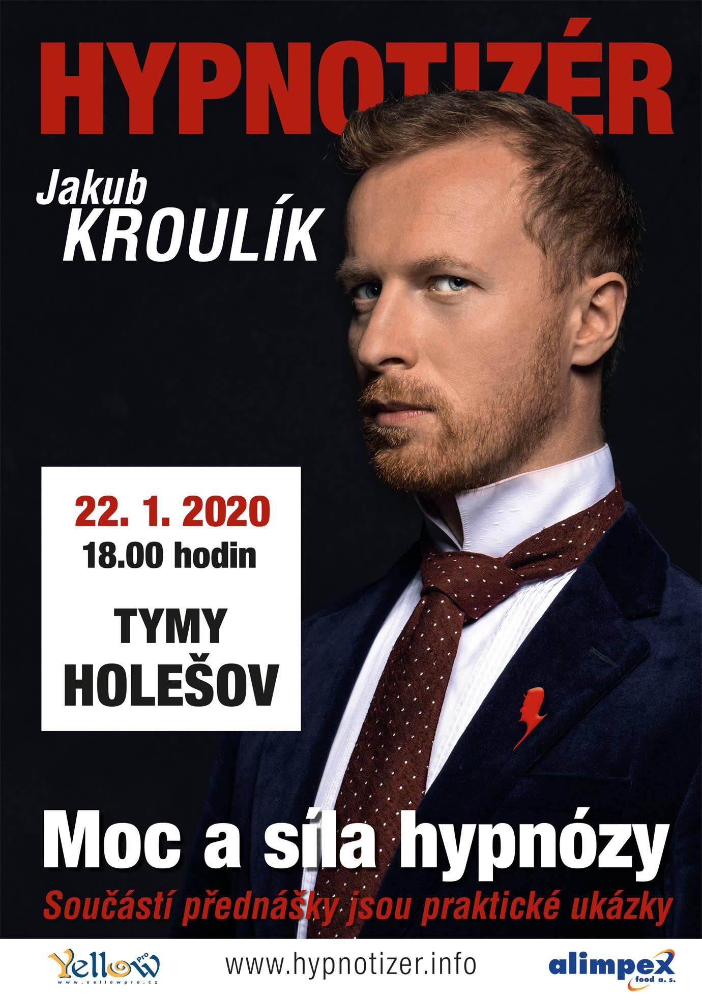 Hypnotizér v Holešově leden 2020