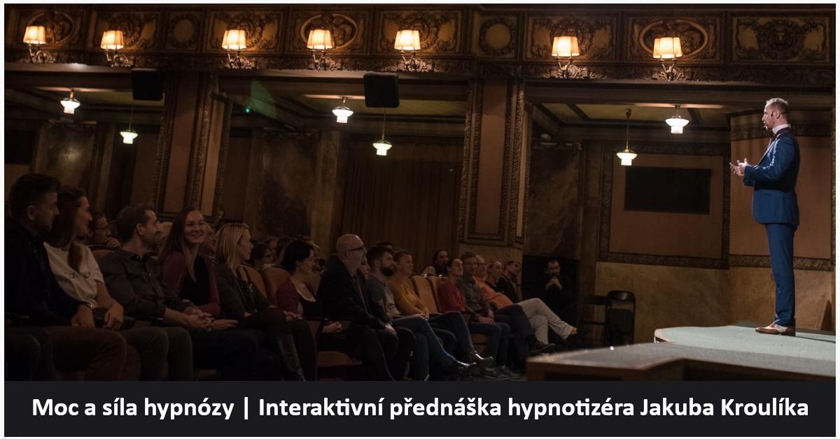 Moc a síla hypnózy, Hypnotizér Jakub Kroulík