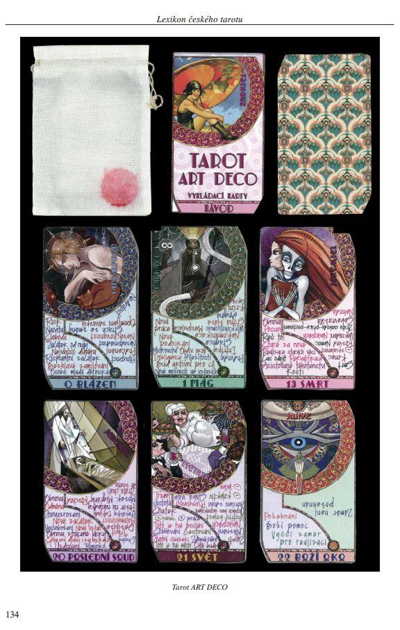 Lexikon českého tarotu | ukázka z knihy | Tarot ART DECO