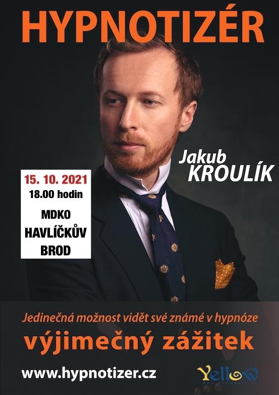 Hypnotizér v Havlíčkově Brodě říjen 2021