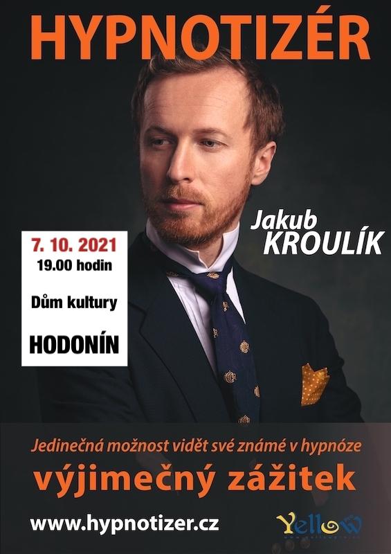 Hypnotizér v Hodoníně říjen 2021
