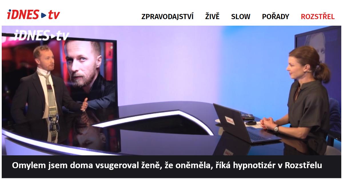 Hypnotizér Jakub Kroulík | Rozstřel | iDNES